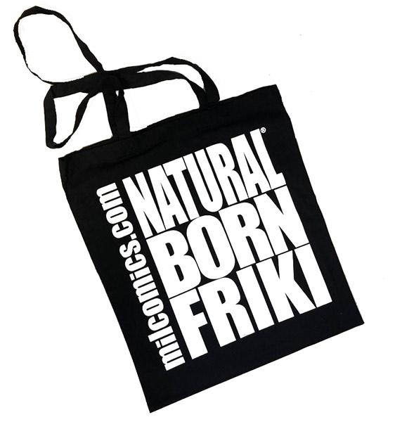Bolsa Natural Born Friki