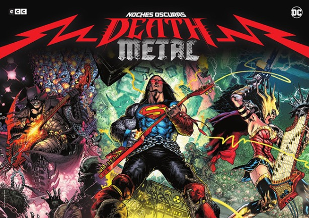 Lámina de regalo DC Comics Metal