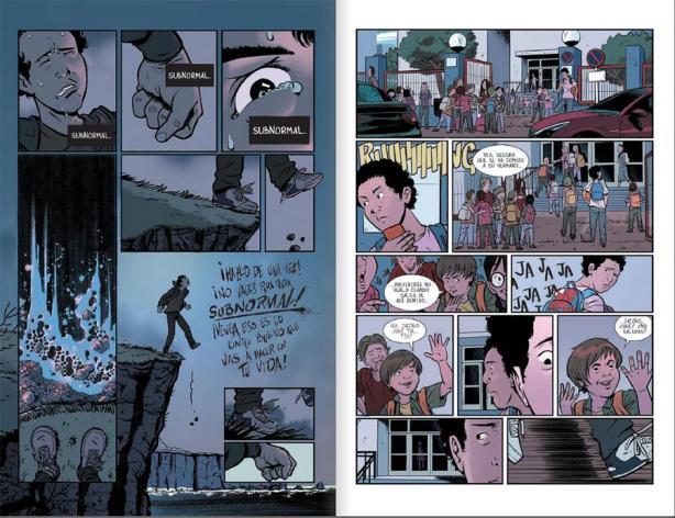 Viñetas de Subnormal (cómic)